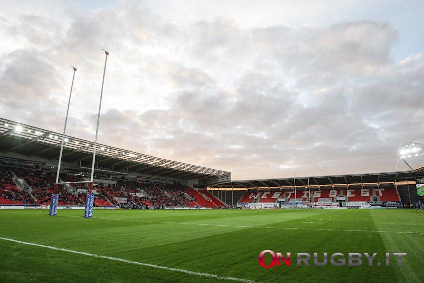 Il Parc Y Scarlets ospiterà due match del Galles tra ottobre e novembre. Ph OnRugby.it