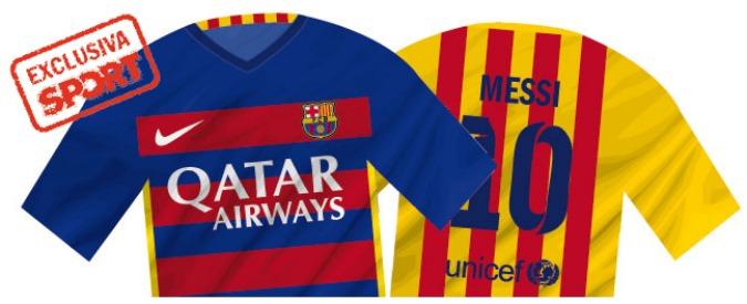 Nuova maglia Barcellona