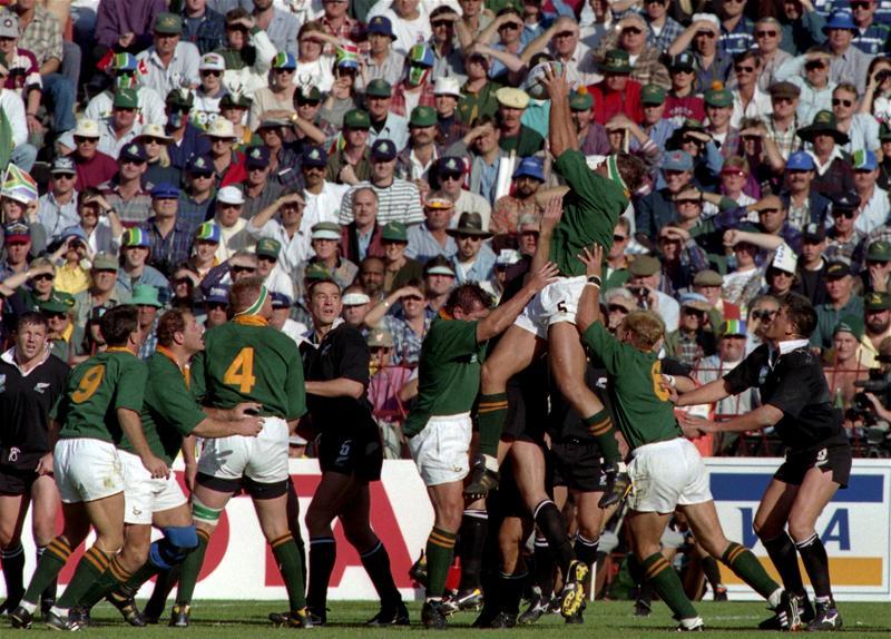 Springboks 1995 (ph. Chris Lobina/Action Images)