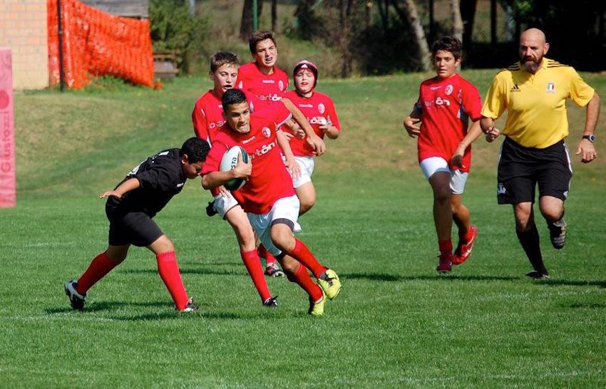 Barton Cus Perugia Under 14 azione 2