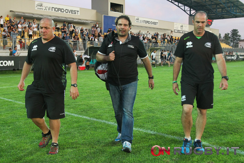 staff zebre rugby