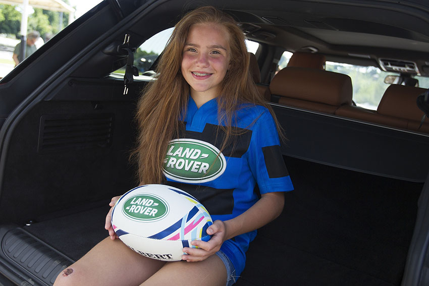 land rover rugby