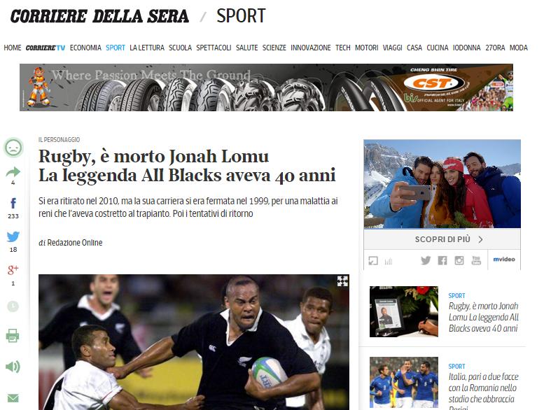 Lomu Corriere