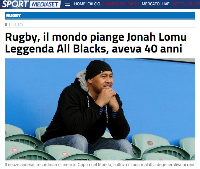 Lomu Sportmediaset