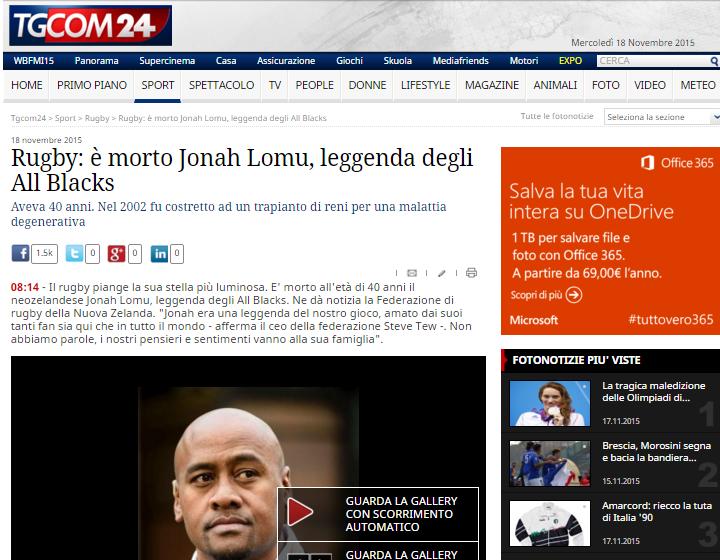 Lomu Tgcom