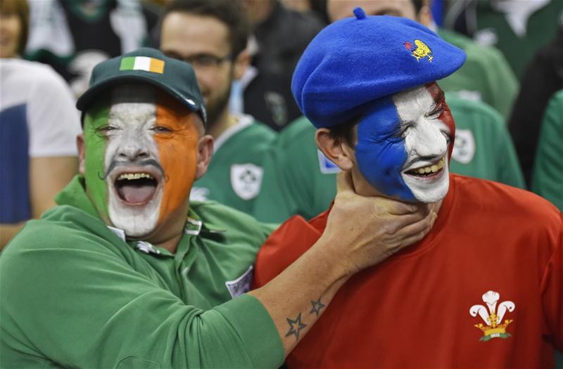 francia irlanda tifosi sei nazioni