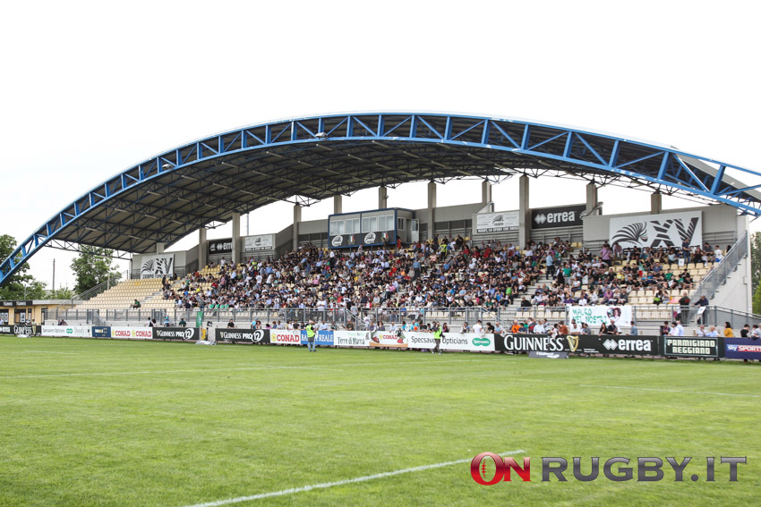 Lo stadio Lanfranchi, la casa delle Zebre ph. Sebastiano Pessina