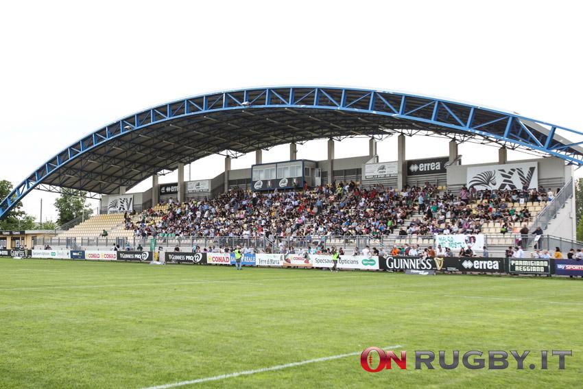 Rainbow Cup, le Zebre riaprono lo stadio Lanfranchi ai tifosi ph. Sebastiano Pessina