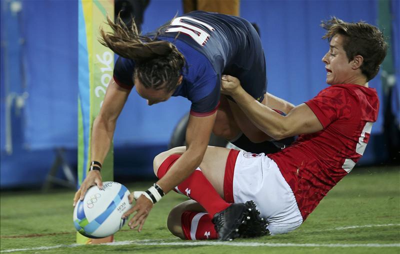 Canada francia rugby seven