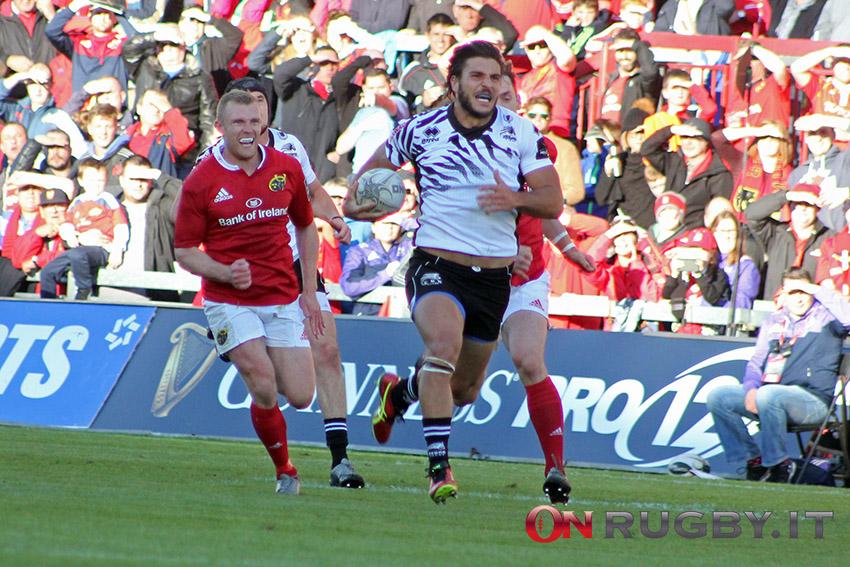 zebre rugby venditti