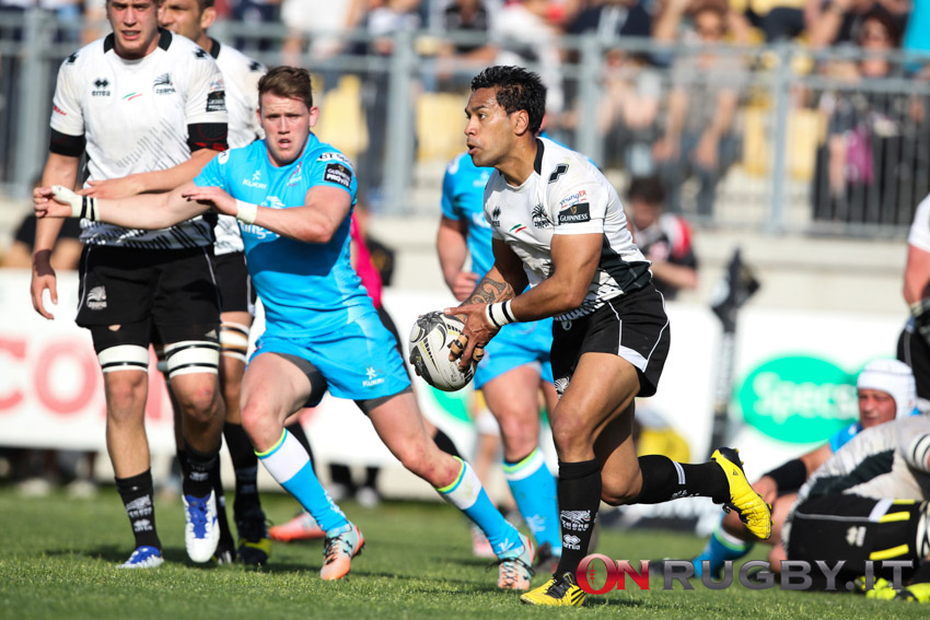 zebre rugby ulster