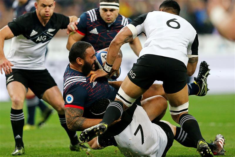 francia all blacks test match