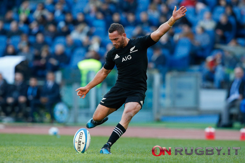 aaron cruden all blacks nuova zelanda