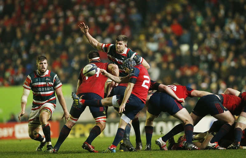 munster duncan williams leicester rugby champions cup