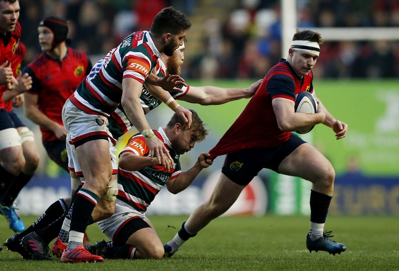 munster leicester champions cup rugby