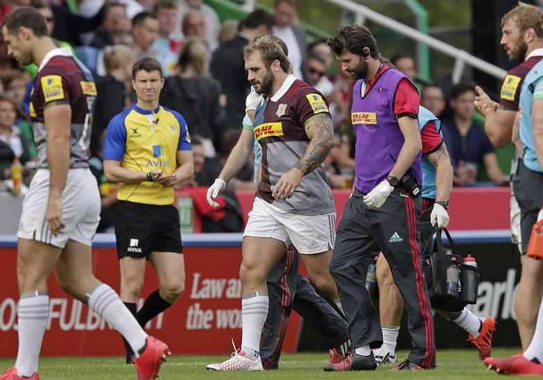 marler rugby premiership infortunio