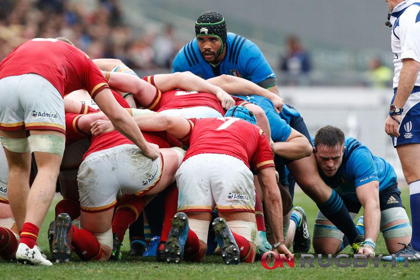 italia maxime mbandà nazionale rugby sei nazioni 2017