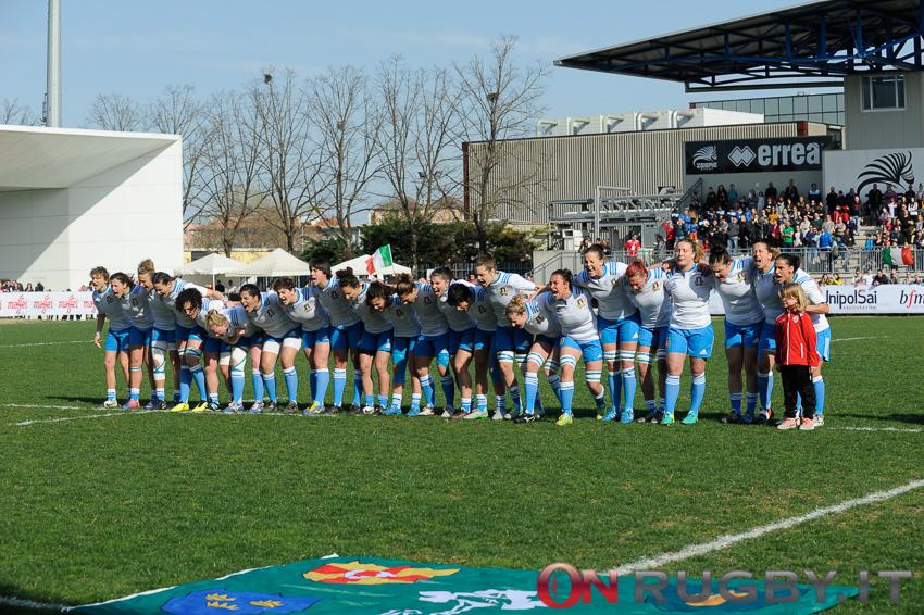Italia Femminile Sei Nazioni vs Francia 2017