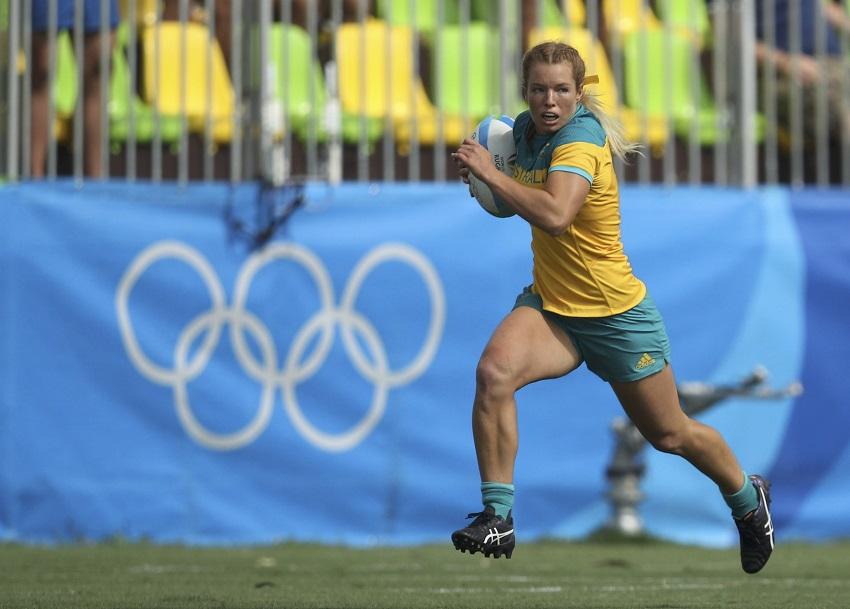 Rugby Sevens Rio Olympic Games 2016 Emma Tonegato Australia