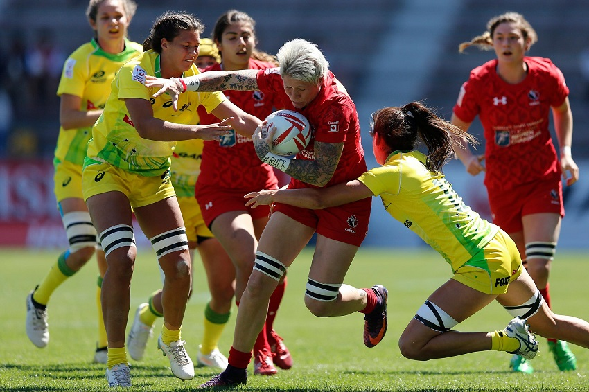 Women's Sevens World Series Canada Australia Jen Kish