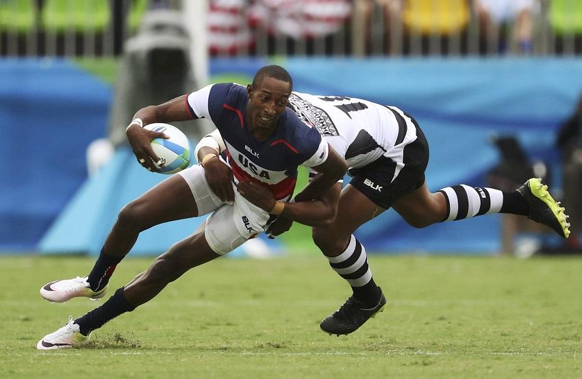 Perry Baker USA 7s v Fiji Rugby Sevens