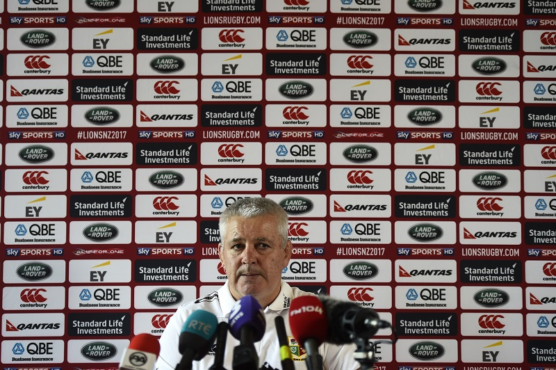 warren gatland british & irish lions