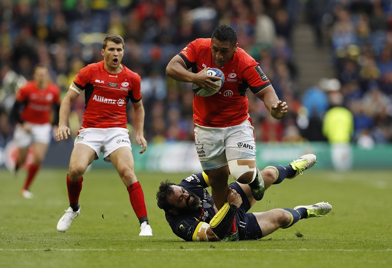 Saracens Mako Vunipola champions cup rugby
