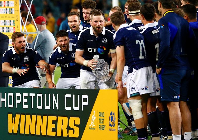 scozia rugby test match