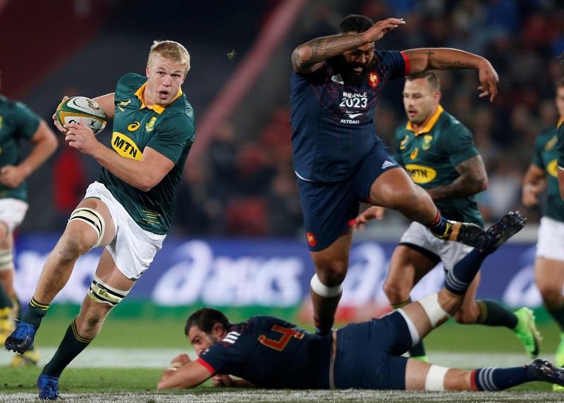 sudafrica francia rugby test match