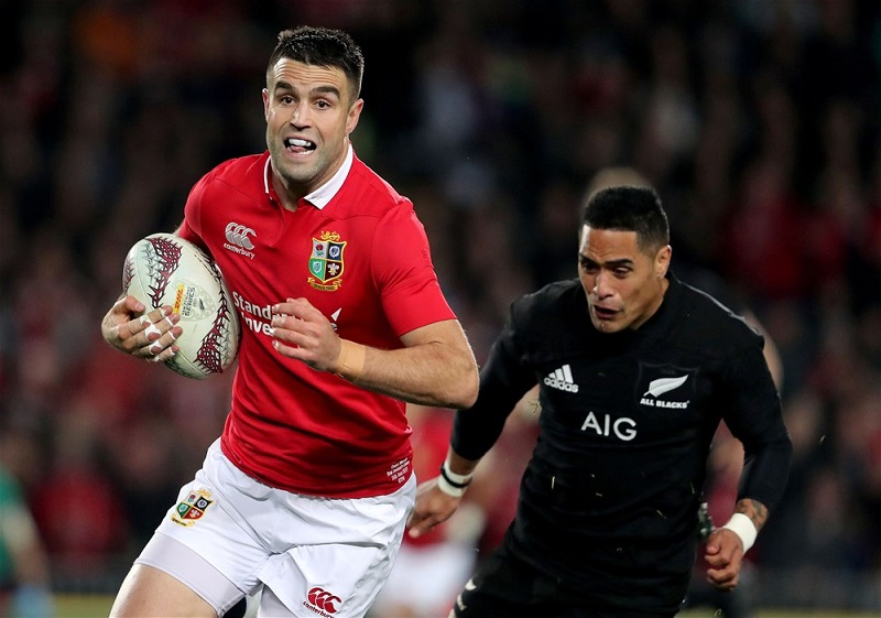 Conor Murray lions all blacks