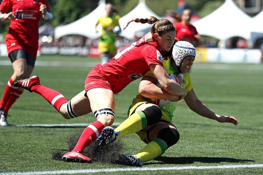 Canada e Australia si sfidano a Clermont Ferrand per conquistare il secondo posto delle Women's Sevens World Series 2016-2017