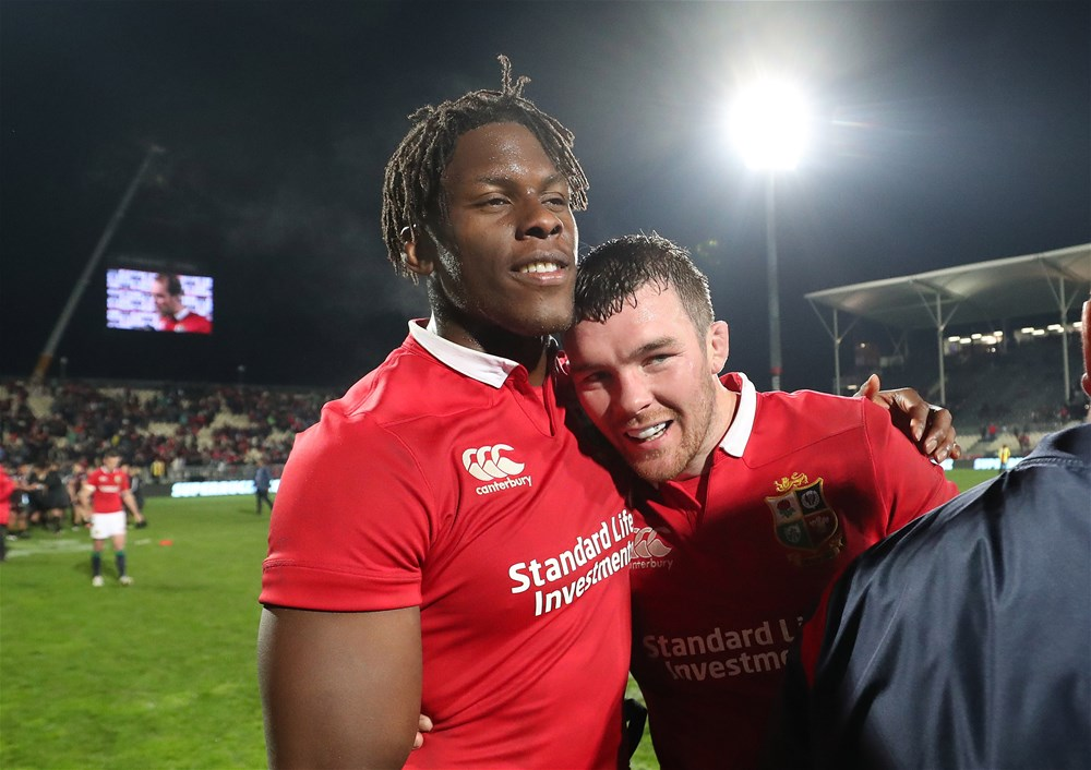 "British & Irish Lions: il capitano? Sam Warburton ""vota"" Maro Itoje"