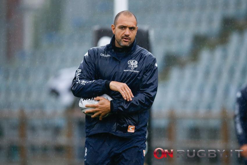 Marco Bortolami allenatore Benetton Rugby