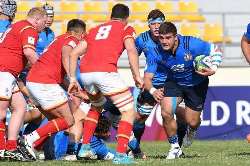 marco riccioni italia rugby