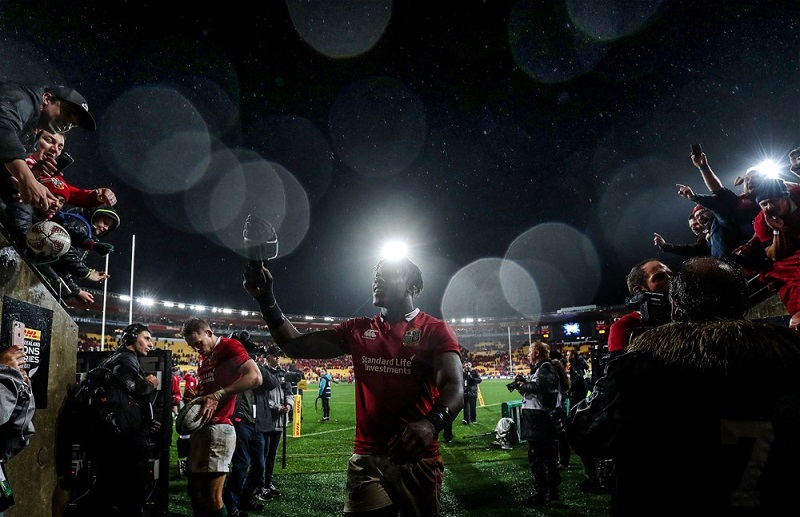 Maro Itoje british & irish lions rugby