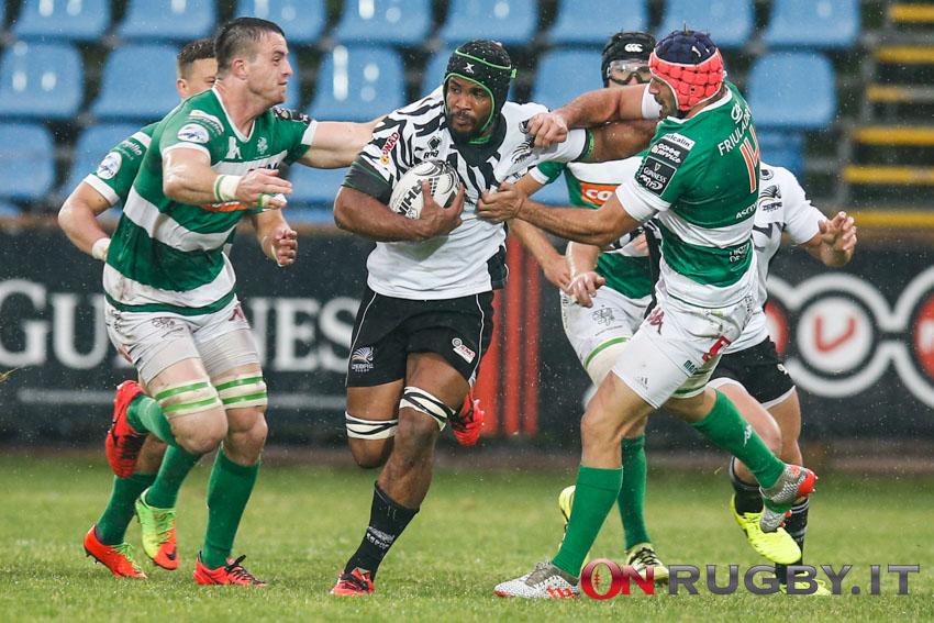 zebre rugby benetton treviso pro14 mbanda