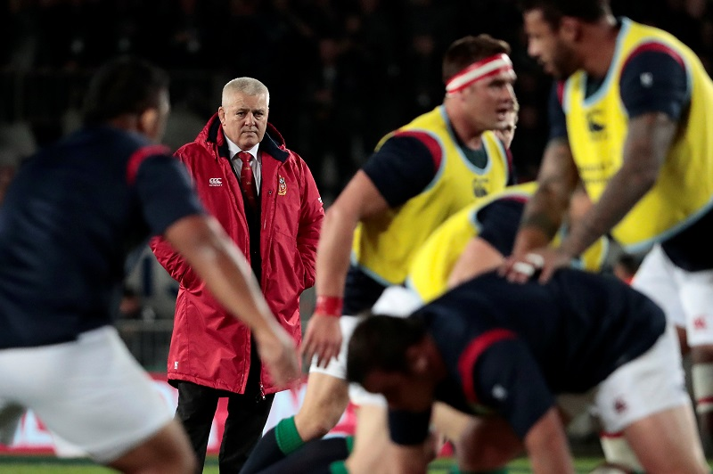 gatland british & irish lions