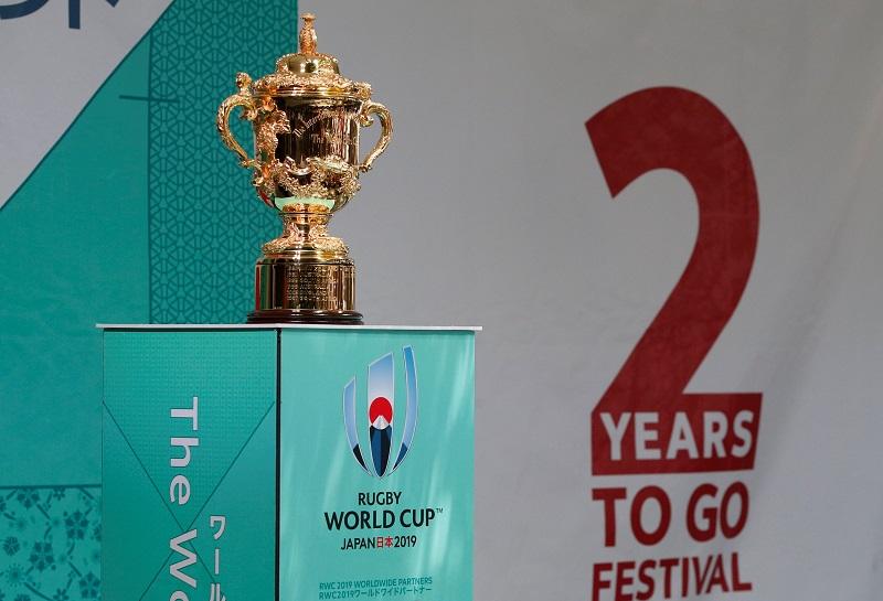 Webb Ellis Cup rugby world cup 2023