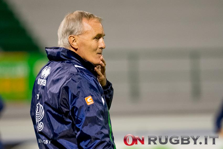 Benetton: Kieran Crowley non allenerà i Leoni nella prossima stagione ph. Ettore Griffoni