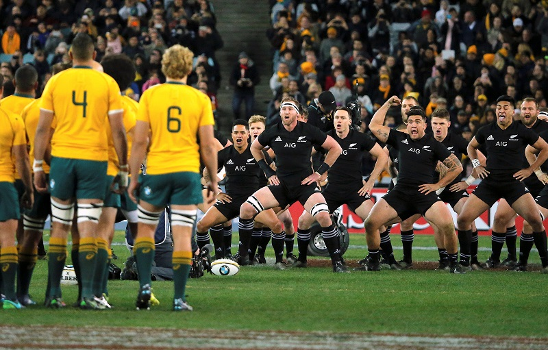 australia all blacks haka rugby