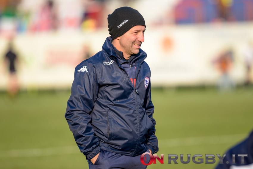 Umberto Casellato allenatore Rovigo