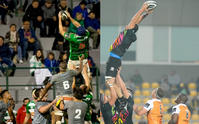 benetton treviso zebre rugby pro 14 touche