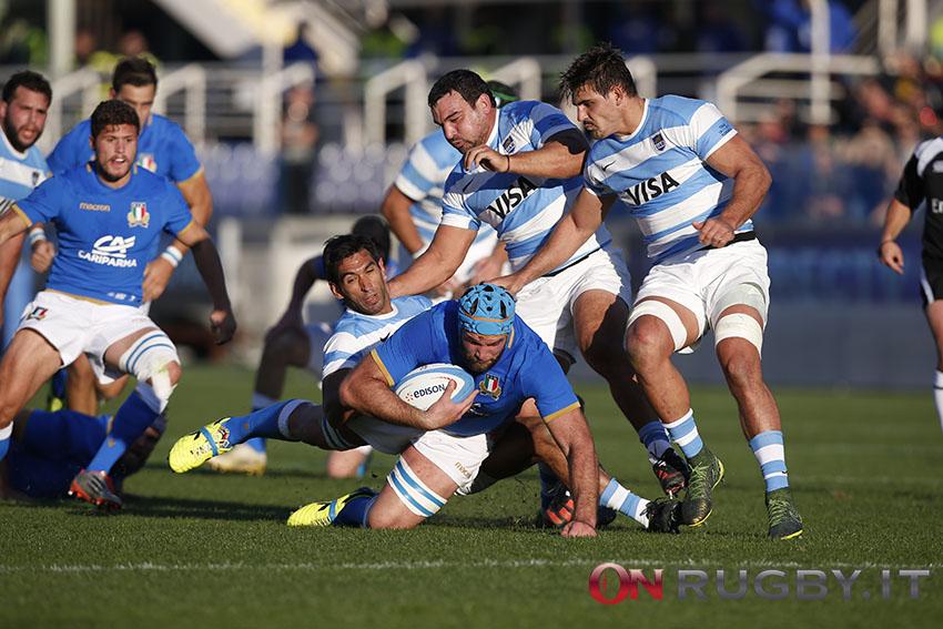 italia argentina nazionale test match rugby