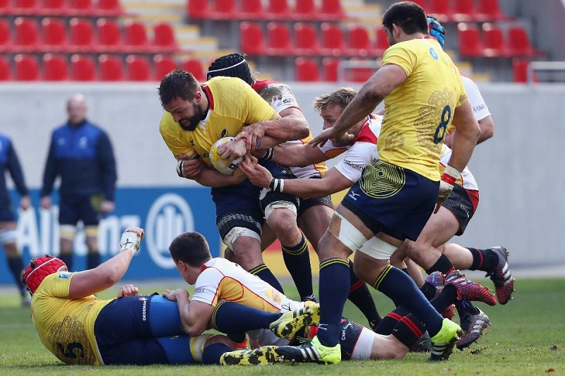 romania rugby test match