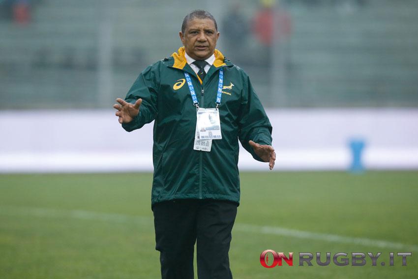 Allister Coetzee è il nuovo allenatore della Namibia ph. Sebastiano Pessina