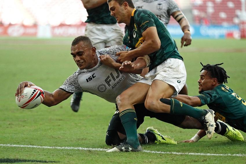 Fiji Sudafrica Singapore 2018 risultato finale