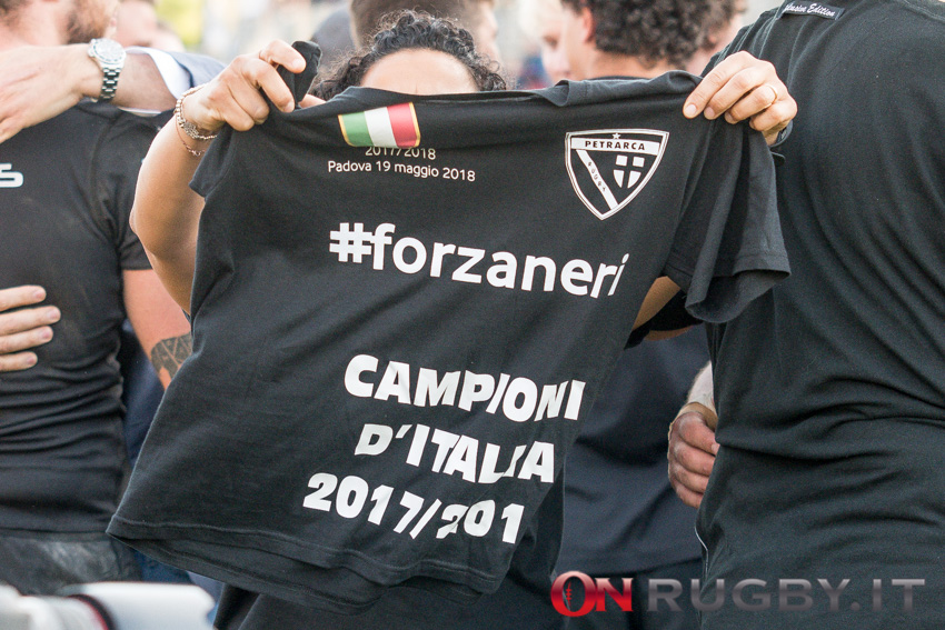 Jody Rossetto ha vinto lo Scudetto 2017/18 partendo da titolare in finale ph. Ettore Griffoni