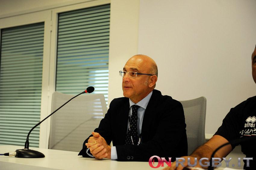 Andrea Dalledonne, amministratore unico delle Zebre ph. Luca Sighinolfi