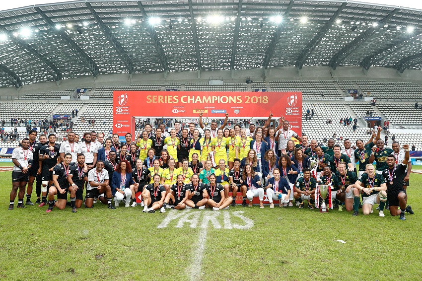 Sevens World Series 2018 Paris Champions