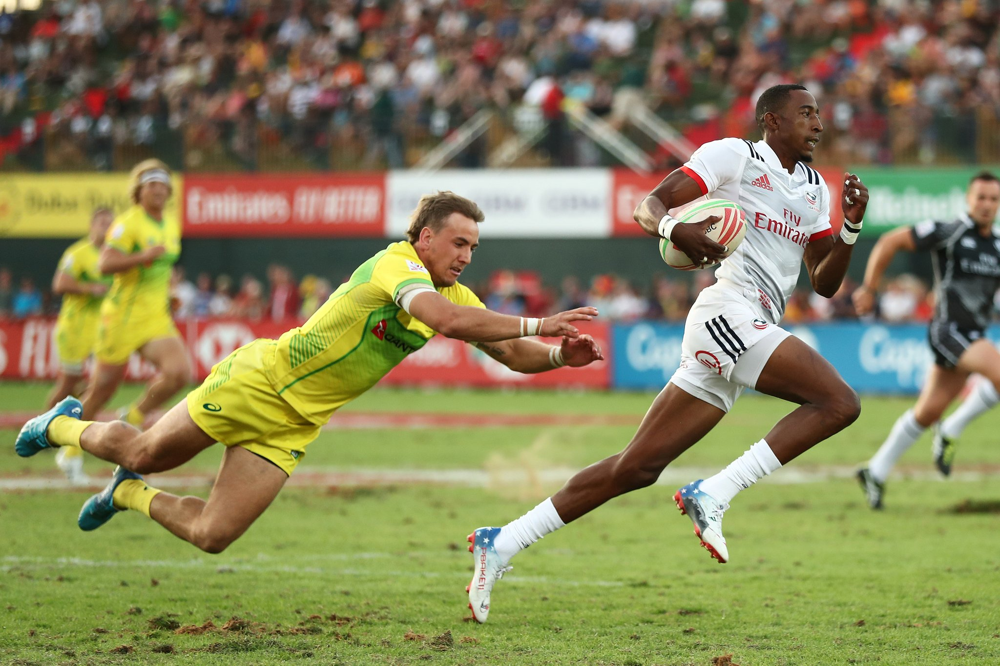 Perry Baker (USA Sevens) vs Australia Sevens World Series